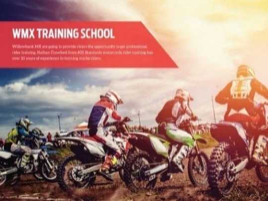 Junior training school for bikes up to 150 cc. Come and learn skills like correct standing position, braking and Picking up your bike. There is a strict limit of 10 rider per class, so get your ticket early to avoid disappointment.